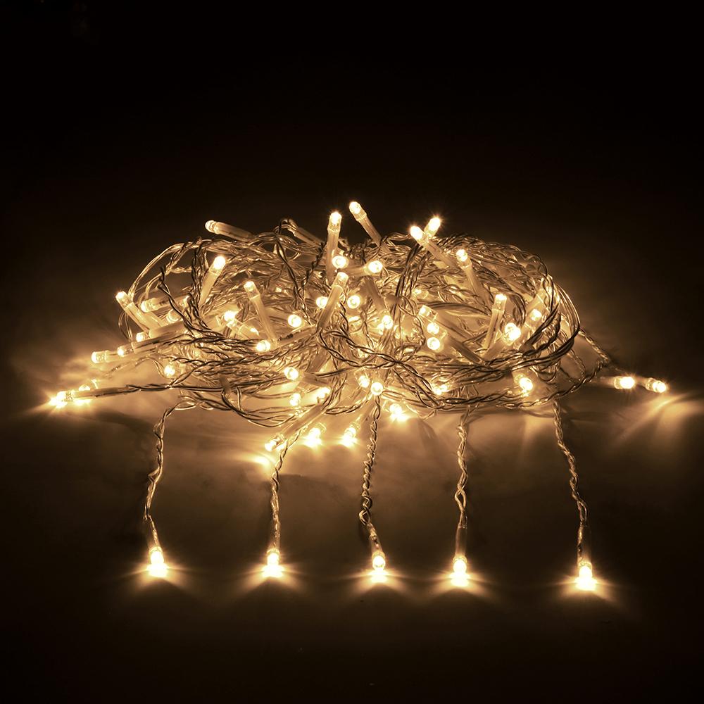 Гирлянда-конструктор электрическая Vegas Занавес, 192 лампы, 6 нитей, свет: теплый, 1 х 4 м