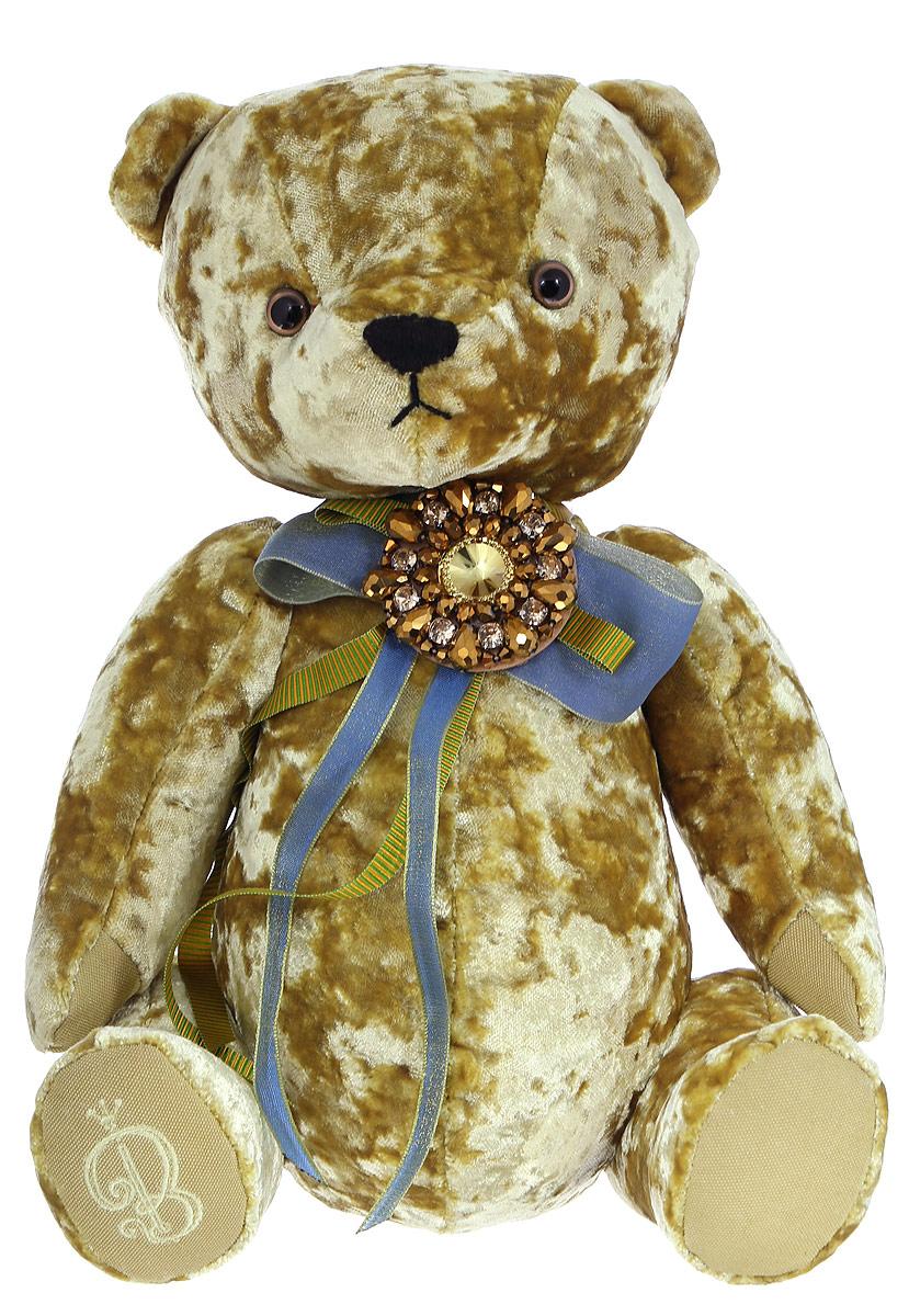 BernArt Мягкая игрушка Медведь цвет золотистый 28 см мягкая игрушка белый медведь 27 см