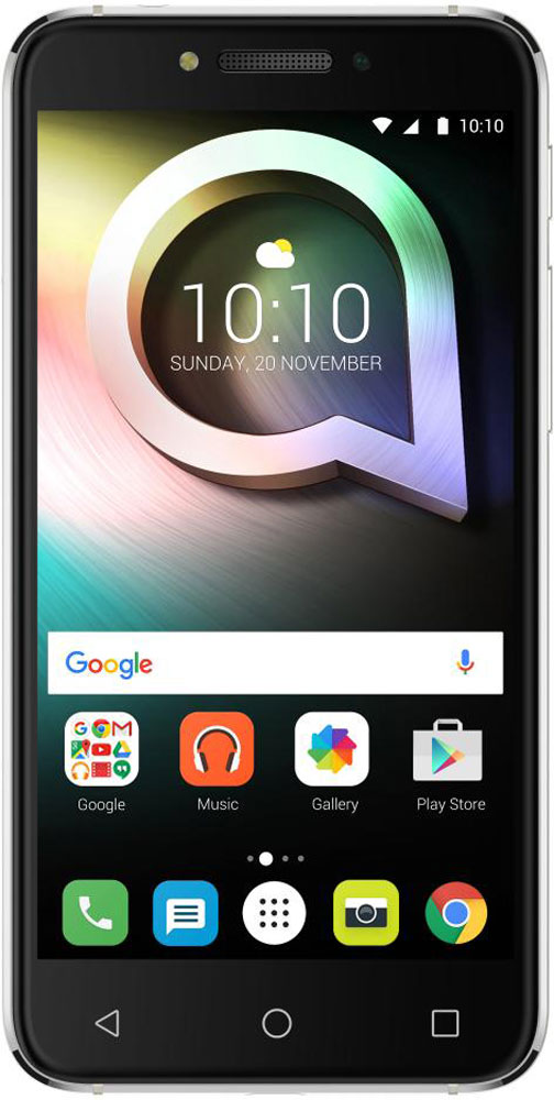 Alcatel OT-5080X Shine Lite, Prime Black5080X-2HALRU7Alcatel OT-5080X Shine Lite создан для тех, кто стремится жить ярко и ценит дизайн премиум-класса. Позволь себе сиять и в жизни и на фото благодаря камерам, обеспечивающим высококачественный уровень съёмки.Корпус смартфона выполнен из прочного стекла Dragontrail с закругленными краями, а также 2.5D эффектом. Благодаря олеофобному покрытию на корпусе не остаются отпечатки от рук. Благодаря уникальному покрытию смартфон выделяется среди остальных.Четырехядерный процессор MediaTek МТ6737 с частотой 1,3 ГГц отлично справится с повседневными задачами. Встроенной памяти 16 Гб хватит для сохранения большого количества информации, также можно расширить при помощи карты microSD до 128 Гб.Основная камера имеет 13-мегапиксельное разрешение и оснащена автофокусом, двойной вспышкой. Фронтальная камера с разрешением 5-мегапикселей отлично подходит для селфи и также имеет вспышку.Плавность линий и утонченная элегантность корпуса, притягательный блеск стекла и металла. В Alcatel OT-5080X Shine Lite каждая деталь выполнена с мастерством и вниманием. Смартфон создан в трех цветовых вариантах, передающих дух современности и отражающих возможности новых технологий.Настройте функцию сканера отпечатков пальцев и получите быстрый доступ к 5 любимым приложениям с экрана блокировки. Чтобы повысить уровень защиты своих данных, храните личные фото, видео, музыку и документы в сейфе, доступ к которому возможен по отпечатку пальца.Наслаждайтесь безупречным изображением фото и видео на 5-дюймовом HD экране с олеофобным покрытием. Отличная читаемость текста даже при ярком солнечном свете.Телефон сертифицирован EAC и имеет русифицированный интерфейс меню и Руководство пользователя.