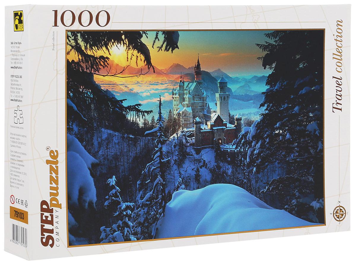 Step Puzzle Пазл Бавария Замок Нойшванштайн