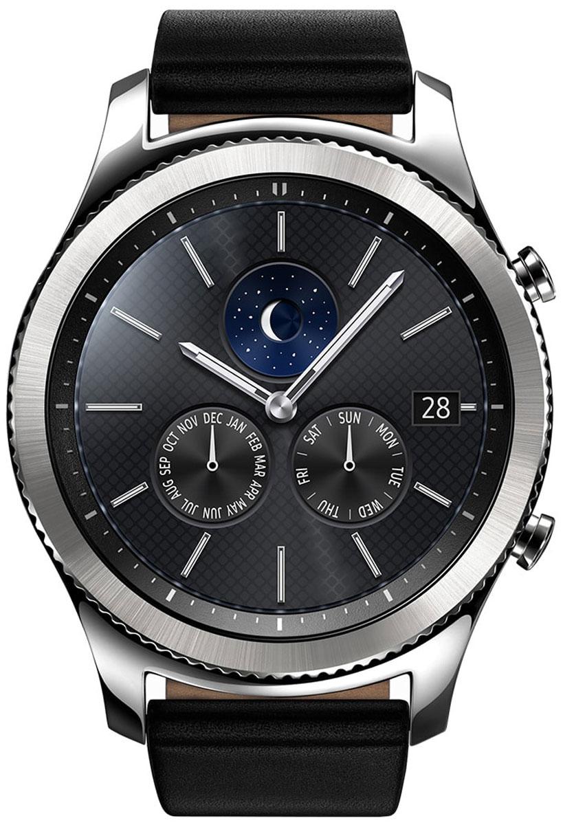 Samsung Gear S3 Classic, Silver смарт-часы