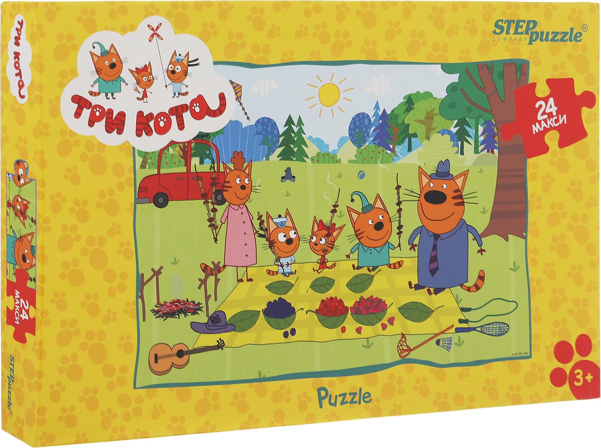Step Puzzle Пазл для малышей Три кота 90033, Степ Пазл ЗАО (Россия)