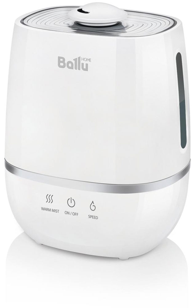 Ballu UHB-805 увлажнитель воздухаНС-1073556Ультразвуковой увлажнитель воздуха Ballu UHB-805 работает в 2-х режимах увлажнения – холодный и теплый пар. Увлажнитель обеспечивает мягкое увлажнение посещения площадью до 30 м2, и поддерживает правильный микроклимат в доме. Капсула для ароматических масел поможет наполнить комнату любимым ароматом. Правильная влажность в комнате и ароматерапия благоприятно влияют на самочувствие и сон человека.Ballu UHB-805 прост и удобен в эксплуатации - для увлажнения можно заливать водопроводную воду. Благодаря входящему в комплект фильтру-картриджу Ballu FC-310 вода очищается от излишков солей жесткости. Противоскользящие резиновые ножки препятствуют скольжению прибора и предохраняют поверхности от повреждений.Фильтр предварительной очистки воздуха очищает воздух от крупных фрагментов пыли и защищает внутренности прибора от загрязнения.Распылитель 360° Индикация низкого уровня воды Капсула для ароматических масел Фильтр предварительной очистки воздуха Противоскользящие резиновые ножки
