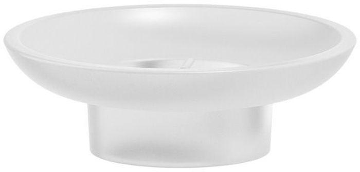 """Запасная мыльница Artwelle """"Harmonie"""" - аксессуар, который является одним из необходимых атрибутов ванной комнаты. Модель не занимает много места и органично вписывается в любой интерьер. Позволяет разместить кусочки мыла любых размеров.  Торговая марка Artwelle принадлежит компании Santech Allianz Gmbh. Универсальный дизайн аксессуаров позволяет дополнить практически любой интерьер, а широкий ассортимент предоставляет свободу выбора. Надежность конструкции, профессиональное крепление и прочность покрытия позволяют использовать изделия не только в домашних условиях, но также и в общественных местах, включая отели. В производстве коллекций используются материалы высокого качества, что обеспечивает долговечность изделий."""