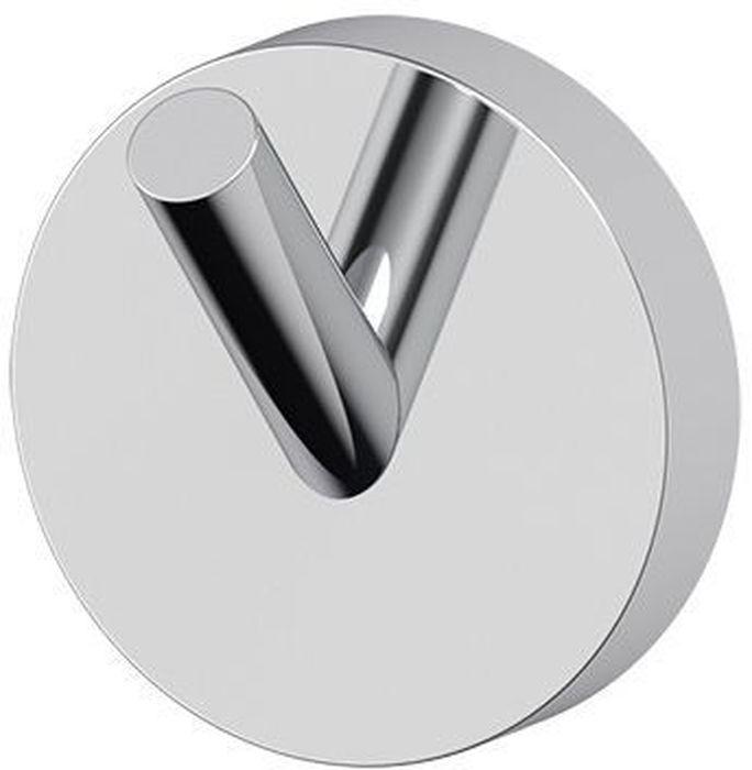 """Стильный и удобный крючок для ванной Artwelle """"Harmonie"""" выполнен из высококачественной латуни и крепится к стене при помощи шурупов (входят в комплект). Хромовое покрытие придает изделию яркий металлический блеск и эстетичный внешний вид.  Данный аксессуар подойдет для полотенец без петель, халатов и предметов личной гигиены. Торговая марка Artwelle принадлежит компании Santech Allianz Gmbh. Универсальный дизайн аксессуаров позволяет дополнить практически любой интерьер, а широкий ассортимент предоставляет свободу выбора. Надежность конструкции, профессиональное крепление и прочность покрытия позволяют использовать изделия не только в домашних условиях, но также и в общественных местах, включая отели. В производстве коллекций используются материалы высокого качества, что обеспечивает долговечность изделий."""