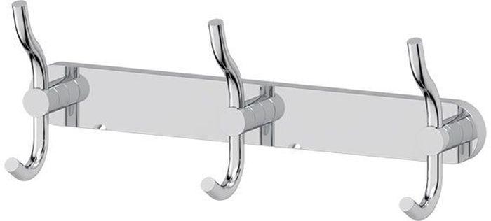 """Планка для ванной Artwelle """"Harmonie"""" выполнена из высококачественной латуни и крепится к стене при помощи шурупов (входят в комплект).  Хромовое покрытие придает изделию яркий металлический блеск и эстетичный внешний вид. Планка с тремя двойными крючками имеет классический дизайн, аккуратна, компактна и привлекательна. Аксессуар позволяет размещать максимальное количество предметов при минимальном количестве необходимых для крепления отверстий в  стене. Имеет усиленное крепление, которое обеспечивает дополнительную прочность конструкции. Торговая марка Artwelle принадлежит компании Santech Allianz Gmbh. Универсальный дизайн аксессуаров позволяет дополнить  практически любой интерьер, а широкий ассортимент предоставляет свободу выбора. Надежность конструкции, профессиональное крепление и  прочность покрытия позволяют использовать изделия не только в домашних условиях, но также и в общественных местах, включая отели. В  производстве коллекций используются материалы высокого качества, что обеспечивает долговечность изделий."""