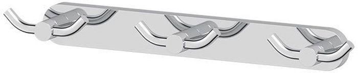 Планка для ванной Artwelle Harmonie, с тремя двойными крючками. HAR 009HAR 009Планка для ванной Artwelle Harmonie выполнена из высококачественной латуни и крепится к стене при помощи шурупов (входят в комплект).Хромовое покрытие придает изделию яркий металлическийблеск и эстетичный внешний вид.Планка с тремя двойными крючками имеет классический дизайн, аккуратна, компактна и привлекательна.Аксессуар позволяет размещать максимальное количество предметов при минимальном количестве необходимых для крепления отверстий встене.Торговая марка Artwelle принадлежит компании Santech Allianz Gmbh. Универсальный дизайн аксессуаров позволяет дополнить практически любой интерьер, а широкий ассортимент предоставляет свободу выбора. Надежность конструкции, профессиональное крепление и прочность покрытия позволяют использовать изделия не только в домашних условиях, но также и в общественных местах, включая отели. В производстве коллекций используются материалы высокого качества, что обеспечивает долговечность изделий.