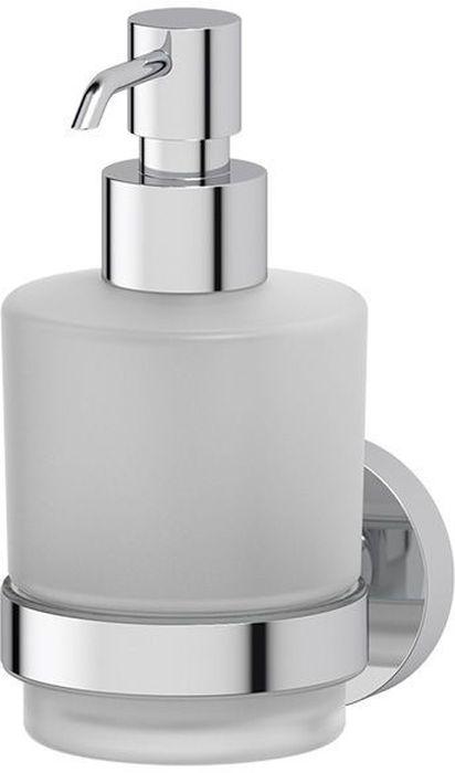 """Емкость Artwelle """"Harmonie"""" предназначена для хранения и удобного использования жидкого мыла. Емкость выполнена из высококачественной хромированной латуни и стекла и оснащена дозатором для мыла.Благодаря компактным размерам и классическому дизайну емкость Artwelle """"Harmonie"""" впишется в интерьер любой ванной комнаты. Торговая марка Artwelle принадлежит компании Santech Allianz Gmbh. Универсальный дизайн аксессуаров позволяет дополнить практически любой интерьер, а широкий ассортимент предоставляет свободу выбора. Надежность конструкции, профессиональное крепление и прочность покрытия позволяют использовать изделия не только в домашних условиях, но также и в общественных местах, включая отели. В производстве коллекций используются материалы высокого качества, что обеспечивает долговечность изделий."""
