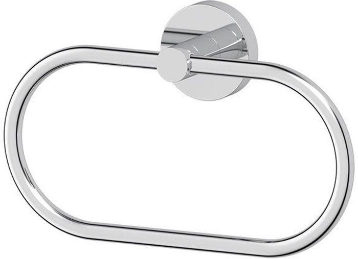 """Держатель полотенец - кольцо Artwelle """"Harmonie"""", изготовленный из высококачественной хромированной латуни, предназначен для размещения полотенец для рук. Аксессуар рекомендуется размещать в ванной комнате на уровне раковины справа от нее. Кольцо также удобно использовать рядом с биде для размещения небольшого полотенца. Аксессуар занимает в ванной комнате и туалете минимум пространства, так как подвижная рабочая часть прижата к стене и откидывается только при использовании. Торговая марка Artwelle принадлежит компании Santech Allianz Gmbh. Универсальный дизайн аксессуаров позволяет дополнить практически любой интерьер, а широкий ассортимент предоставляет свободу выбора. Надежность конструкции, профессиональное крепление и прочность покрытия позволяют использовать изделия не только в домашних условиях, но также и в общественных местах, включая отели. В производстве коллекций используются материалы высокого качества, что обеспечивает долговечность изделий."""