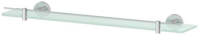 Полка для ванной Artwelle Harmonie, 60 х 12,4 см. HAR 036HAR 036Полка для ванной Artwelle Harmonie выполнена из высококачественной латунии стекла и крепится к стене при помощи шурупов (входят в комплект). Матированная химическим способом поверхность стекла имеет привлекательный внешний вид. На матированном стекле меньше видны подтеки, что облегчает уход за ним.Аксессуар имеет скрытый пластиковый уплотнитель, который обеспечивает отсутствие соприкосновения стекла и металла, плотно фиксирует стеклянный предмет в держателе и предохраняет его от случайного опрокидывания.При выборе длины полки рекомендуется ориентироваться на ширину раковины, над которой обычно ее размещают. Однако полку можно размещать и в других местах ванной комнаты и туалета, например, в имеющихся нишах стен.Торговая марка Artwelle принадлежит компании Santech Allianz Gmbh. Универсальный дизайн аксессуаров позволяет дополнить практически любой интерьер, а широкий ассортимент предоставляет свободу выбора. Надежность конструкции, профессиональное крепление и прочность покрытия позволяют использовать изделия не только в домашних условиях, но также и в общественных местах, включая отели. В производстве коллекций используются материалы высокого качества, что обеспечивает долговечность изделий.