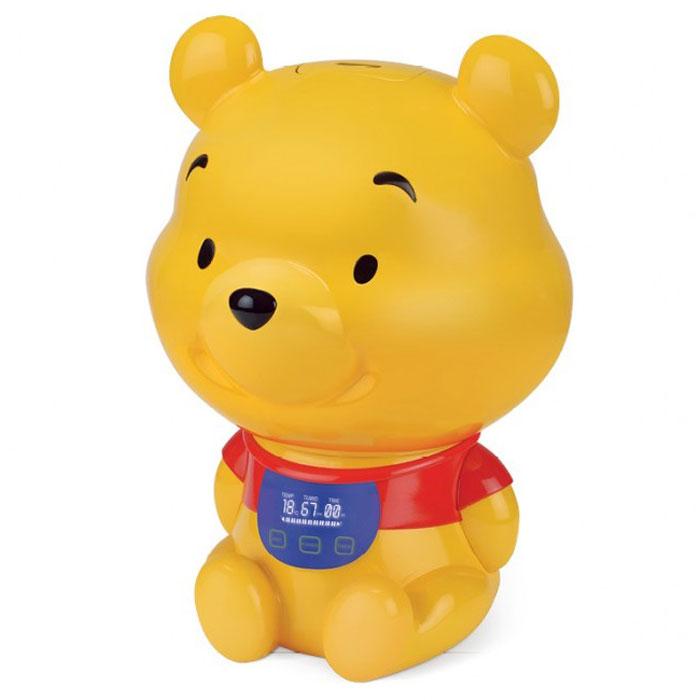 Ballu UHB-275 Winnie Pooh увлажнитель воздухаНС-1075712Увлажнитель воздуха Ballu UHB-275 Winnie Poohзнакомит малышей с другим всемирно известным, всеми любимым и никогда не стареющим персонажем – Медвежонком Винни. Этот прибор подарит множество радостных моментов детям и их родителям, сохранит здоровый микроклимат и будет поддерживать оптимальный уровень влажности в доме.В отопительный период влажность воздуха в помещениях существенно ниже нормы (40-60%). Сухой воздух способствует распространению вирусных заболеваний (ОРВИ) у детей и взрослых, приводит к повышению утомляемости и нарушению сна. Сухой воздух сушит слизистые и может стать причиной рези в глазах и головной боли. Для создания и поддержания комфортного микроклимата применяются увлажнители воздуха.Температура и показатель уровня влажности в помещенииИндикация низкого уровня водыРегулировка интенсивности увлажненияСкладная ручка для переноски резервуара