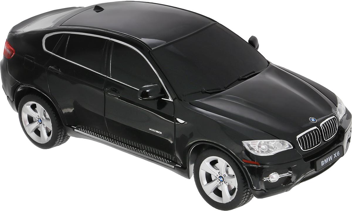 Rastar Радиоуправляемая модель BMW X6 цвет черный масштаб 1:24 rastar радиоуправляемая модель bmw x6 цвет черный масштаб 1 24