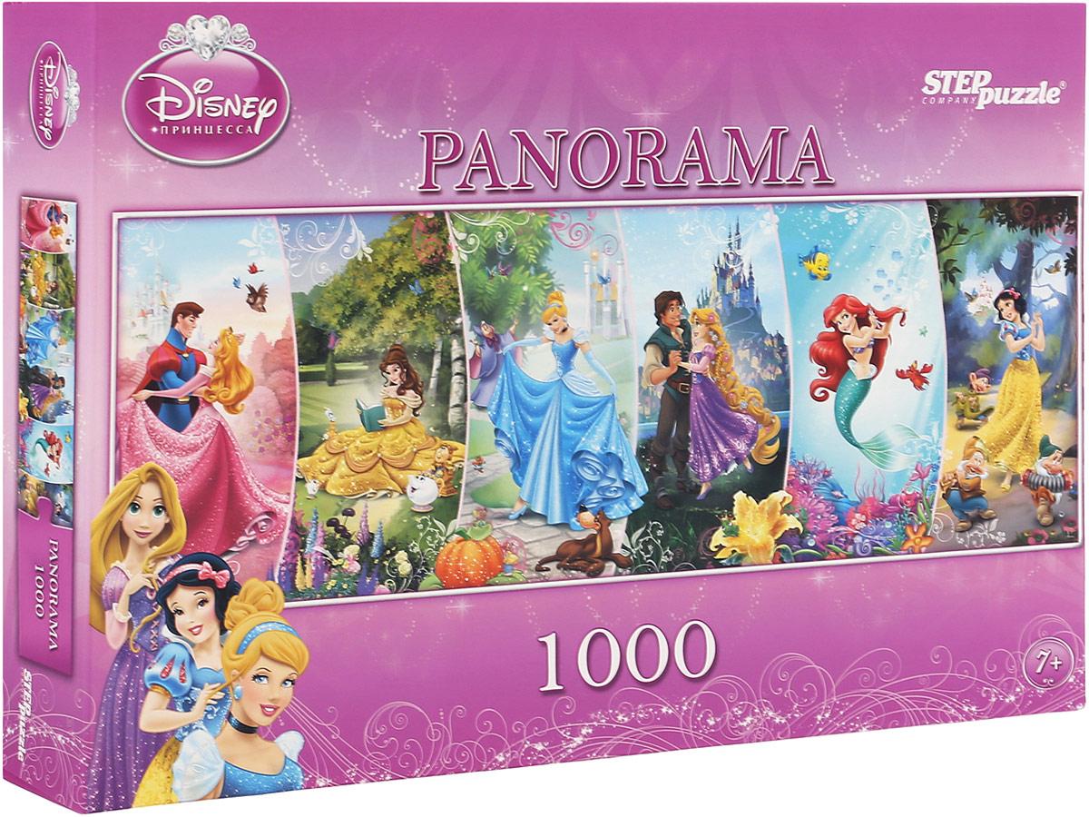 Step Puzzle Пазл-панорама Disney Принцессы