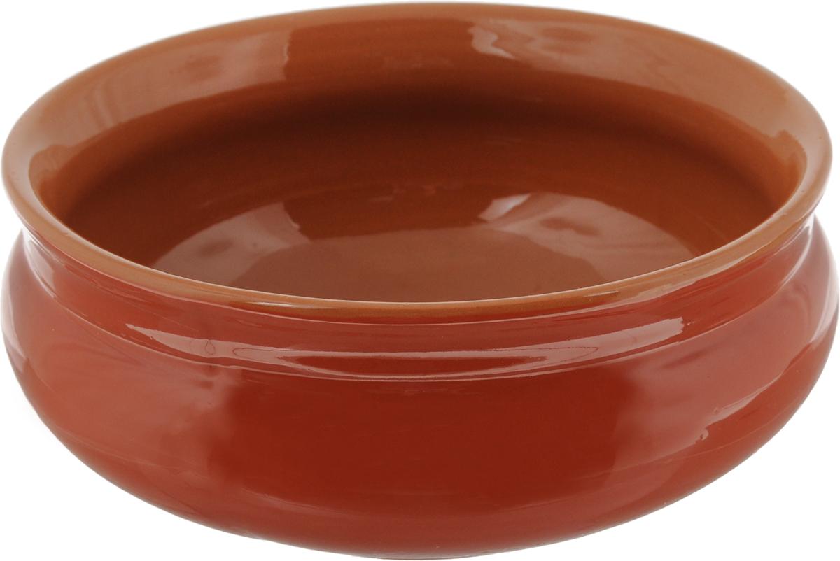 Тарелка глубокая Борисовская керамика Скифская, цвет: кирпичный, 800 млРАД14457937_кирпичныйГлубокая тарелка Борисовская керамика Скифская выполнена из высококачественной керамики. Изделие сочетает в себе изысканный дизайн с максимальной функциональностью. Она прекрасно впишется в интерьер вашей кухни и станет достойным дополнением к кухонному инвентарю. Тарелка Борисовская керамика Скифская подчеркнет прекрасный вкус хозяйки и станет отличным подарком. Можно использовать в духовке и микроволновой печи.Диаметр тарелки (по верхнему краю): 16 см.Объем: 800 мл.