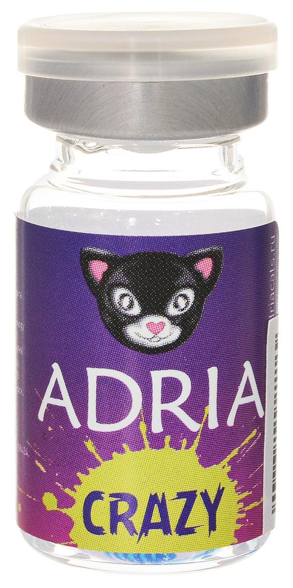 Adria Контактные линзы Crazy / 1 шт / 8.6 / 14.0 / 0.0 / Robot