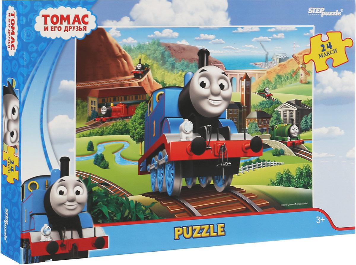 Step Puzzle Пазл для малышей Томас и его друзья 90032 пазл step puzzle томас и его друзья 160 элементов 94058