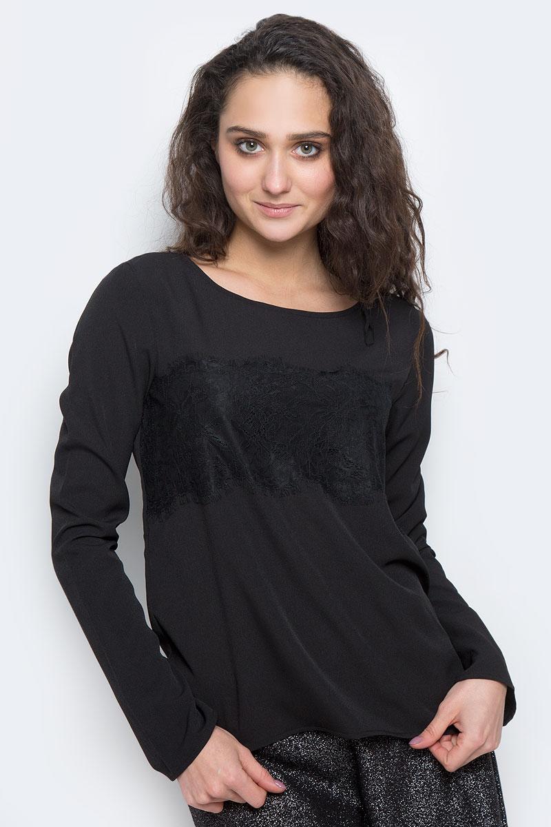Блузка женская Tom Tailor Contemporary, цвет: черный. 2032674.00.75_2999. Размер 36 (42) tom tailor блузка
