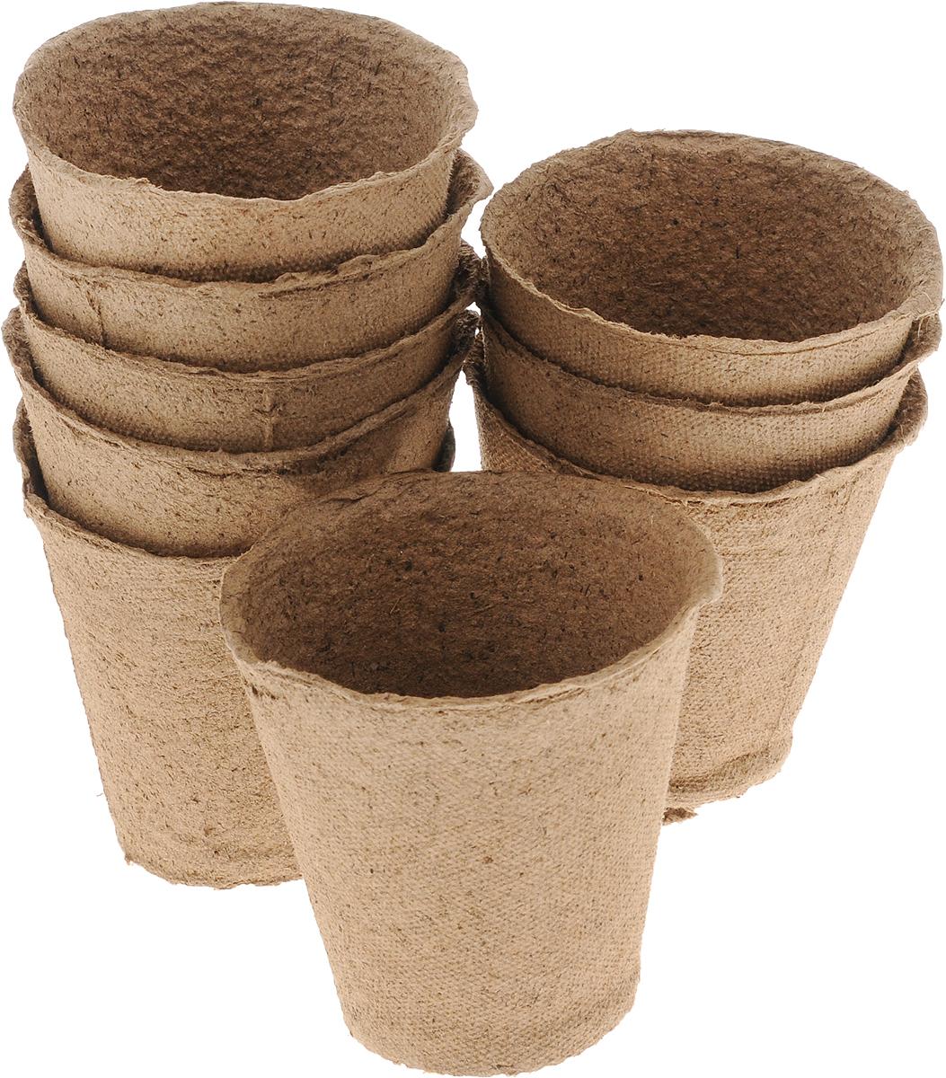 Торфяной горшочек Добрая сила, для выращивания рассады, 9 х 9 х 9,5 см, 9 штDS44140051Горшочек Добрая сила является органическим продуктом и представляет собой полую емкость, стенки которого выполнены из торфо-древесной массы с добавлением мела.Рекомендуется для лучшего прорастания накрыть горшочки стекломили пленкой. Выращенную рассаду необходимо высаживать в грунт вместе с горшком.В комплекте 9 горшочков.Состав: торф верховой 70%, древесная масса 30%, мел, pH не менее 5,5.Размер горшка: 9 х 9 х 9,5 см.