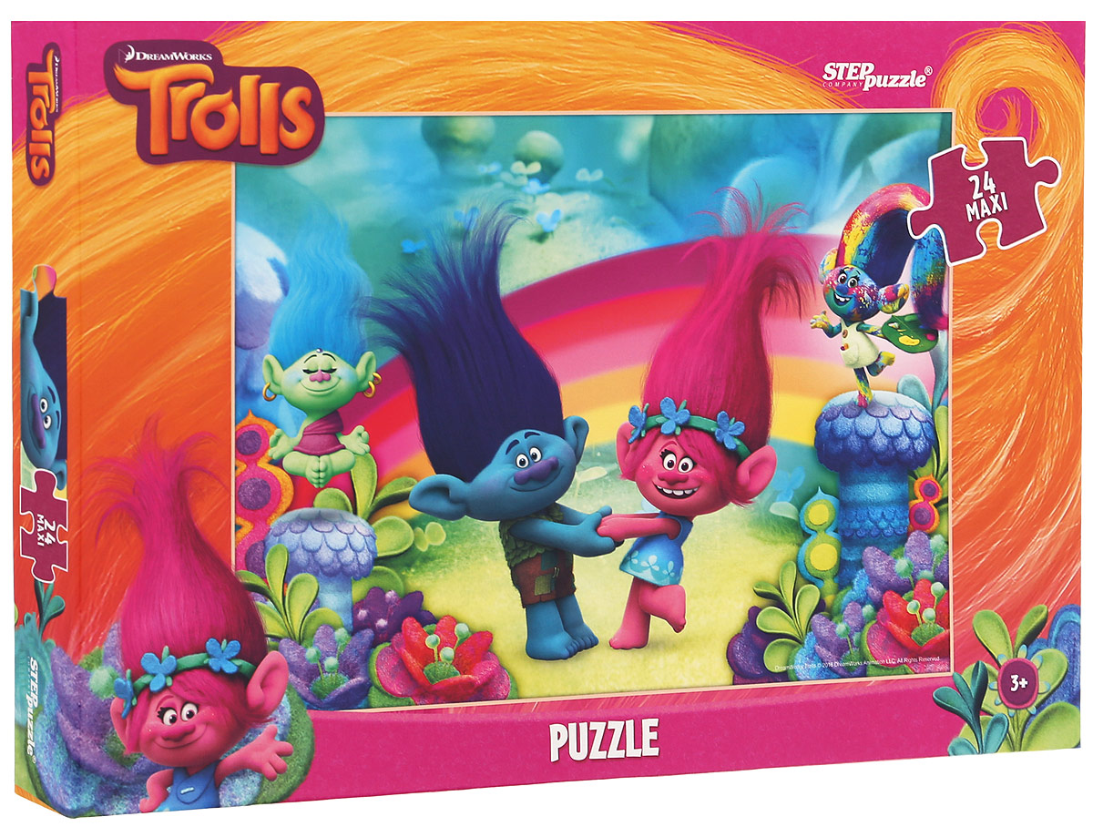 Step Puzzle Пазл для малышей Trolls 90030