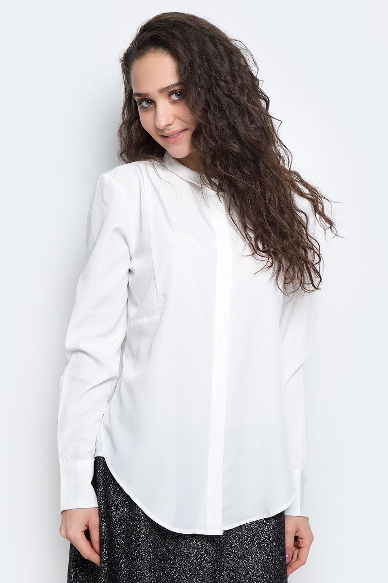 Купить Блузка женская Tom Tailor Contemporary, цвет: белый. 2032596.00.75_8210. Размер 38 (44)