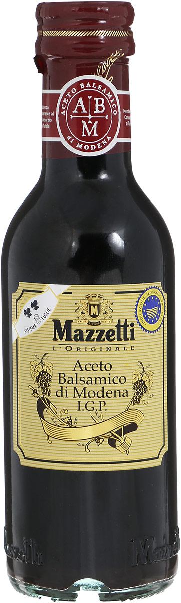 Mazzetti уксус бальзамический 2 листочка, 250 мл65102Бальзамический уксус Mazzetti изготовлен по традиционной рецептуре из винограда, выращенного в Эмилия-Романья (Италия), и выдержан в бочках из ценных пород дерева. Полученный продукт отличается насыщенным вкусом и пряным ароматом. Идеально подходит для заправки салатов и ежедневного использования. Серебряный знак 2 листочка означает мягкий вкус, рекомендуемый для приготовления маринадов, барбекю, овощей на пару.Уважаемые клиенты! Обращаем ваше внимание, что полный перечень состава продукта представлен на дополнительном изображении.