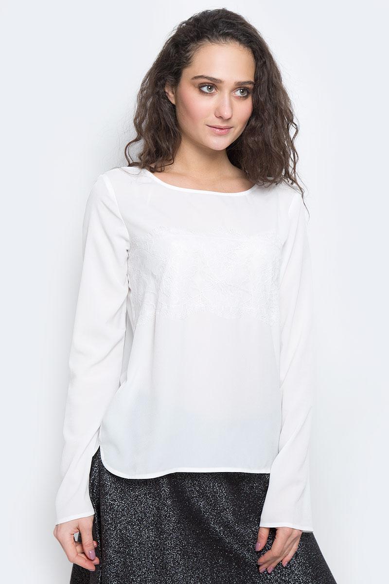 Блузка женская Tom Tailor Contemporary, цвет: белый. 2032674.00.75_8210. Размер 40 (46) зонты