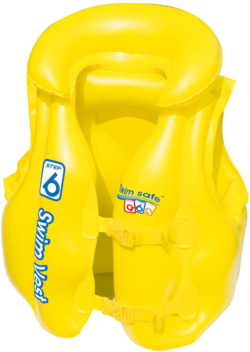 "Bestway Жилет для плавания ""Swim Safe"", ступень B, Bestway (Hong Kong) International Limited. Фабрика-изготовитель Bestway Inflatabbles & Material Corp."