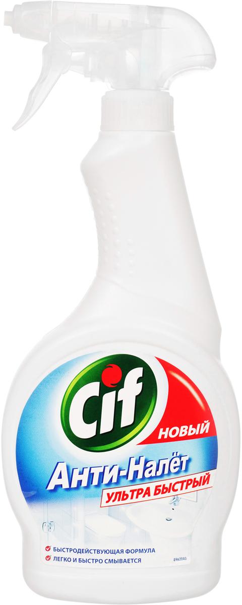 Cif Чистящее крем-средство для ванной Анти-налет, 500 мл бытовая химия cif чистящее средство для ванной 500 мл