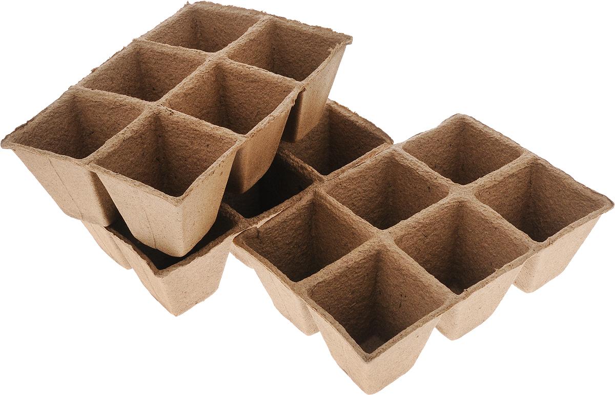 Торфяной горшочек Добрая сила, для выращивания рассады, 9 х 9 х 9,5 см, 18 штDS44140061Горшочек Добрая сила является органическим продуктом и представляет собой полую емкость, стенки которого выполнены из торфо-древесной массы с добавлением мела.Рекомендуется для лучшего прорастания накрыть горшочки стекломили пленкой. Выращенную рассаду необходимо высаживать в грунт вместе с горшком.В комплекте 3 блока по 6 горшочков.Состав: торф верховой 70%, древесная масса 30%, мел, pH не менее 5,5.Размер горшка: 9 х 9 х 9,5 см.Размер одного блока: 29 х 20 х 9,5 см.