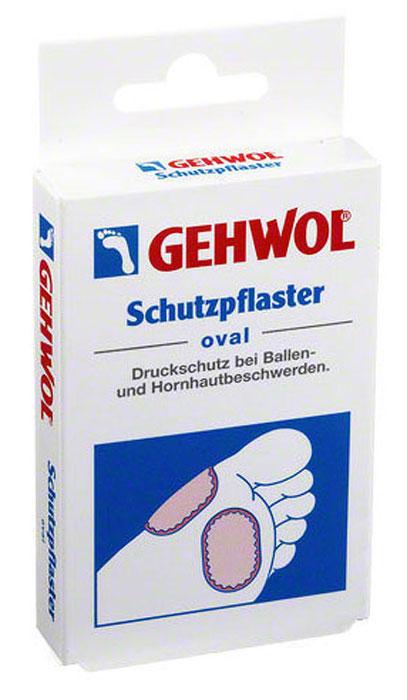 Gehwol Schutzpflaster Oval  Овальный защитный пластырь 4 шт - Перевязочные материалы
