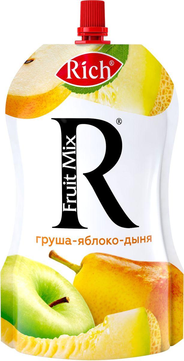 Rich Fruit Mix Груша Яблоко Дыня, 200 г фитпарад 10 заменитель сахара на основе эритрита 200 г