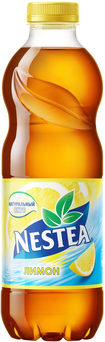 Nestea Лимон чай черный, 1 л nestea персик чай черный 1 75 л