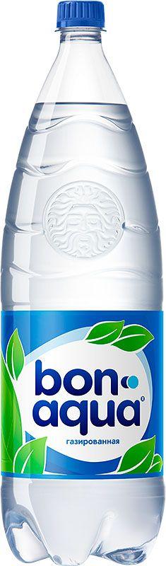 Bon Aqua Вода чистая питьевая газированная, 2 л60105BonAqua - это кристально чистая питьевая вода, высокого качества.BonAqua - известная и любимая в России марка. Производство воды Bon Aqua началось в Германии в 1988 году. В России запуск питьевой воды Bon Aqua был успешно осуществлен в 1994 году.BonAqua проходит 7-ми ступенчатую систему очистки и водоподготовки.Производится в строгом соответствии с высочайшими стандартами качества компании Coca-Cola. Содержит минеральные элементы (Ca, Mg). Обладатель золотой медали в категории Бутилированная вода выставки Вода: экология и технология (ЭКВАТЭК).В России BonAqua 6 раз признавалась Товаром Года.