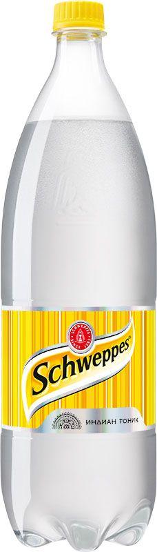 Schweppes Индиан Тоник напиток сильногазированный, 1,5 л schweppes bitter lemon напиток сильногазированный 330 мл
