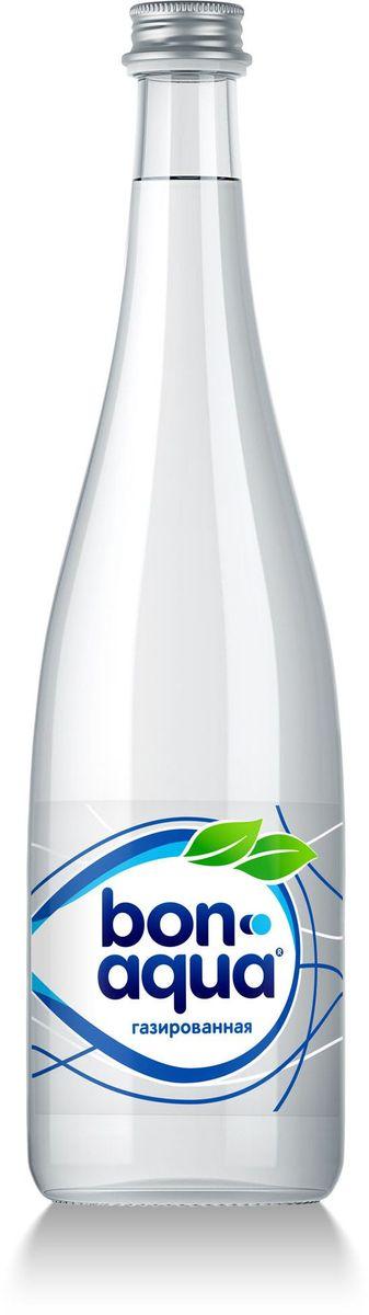 BonAqua Вода чистая питьевая газированная, 0,75 л1400001BonAqua - это кристально чистая питьевая вода, высокого качества.BonAqua - известная и любимая в России марка. Производство воды Bon Aqua началось в Германии в 1988 году. В России запуск питьевой воды Bon Aqua был успешно осуществлен в 1994 году.BonAqua проходит 7-ми ступенчатую систему очистки и водоподготовки. Производится в строгом соответствии с высочайшими стандартами качества компании Coca-Cola. Содержит минеральные элементы (Ca, Mg). Обладатель золотой медали в категории Бутилированная вода выставки Вода: экология и технология (ЭКВАТЭК) .В России BonAqua 6 раз признавалась Товаром Года.