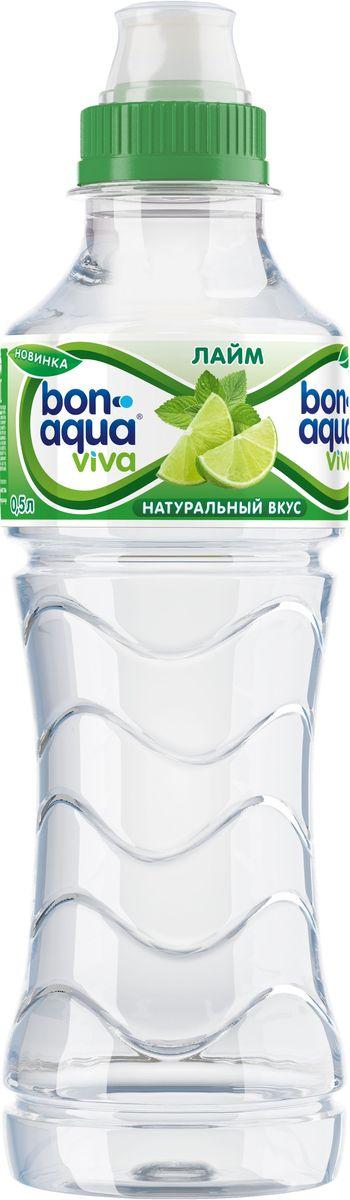 BonAqua Viva Лайм напиток безалкогольный негазированный, 0,5 л