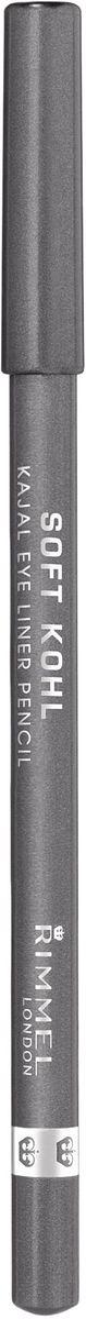 Rimmel Контурный карандаш для глаз Soft Kohl Kajal, тон № 064, 1,2 г34007210064Необычайно мягкий и одновременно стойкийЛегко наносится и растушевывается, для естественного результатаНежный кремовый состав позволяет подчеркнуть внутреннее веко