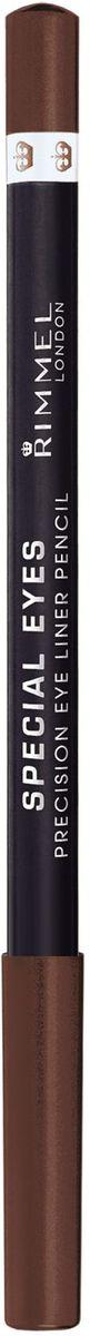 Rimmel Контурный карандаш для глаз Special Eye Liner Pencil Re-pack, тон № 114, 1,2 г34007214114Позволяет создать тонкую и отчетливую линию одним движением Стойкая формула сохраняет безупречный результат в течение дня