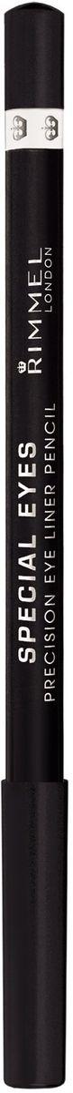 Rimmel Контурный карандаш для глаз Special Eye Liner Pencil Re-pack, тон № 161, 1,2 г34007214161Позволяет создать тонкую и отчетливую линию одним движением Стойкая формула сохраняет безупречный результат в течение дня