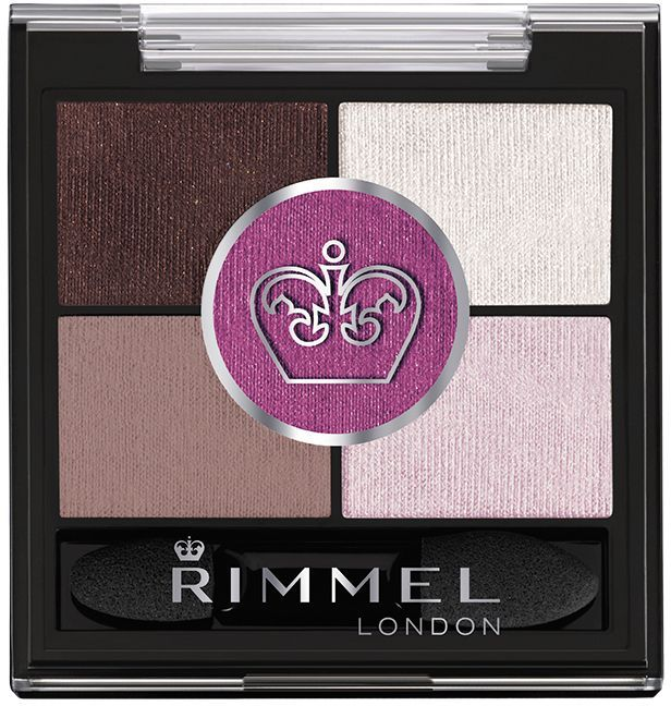 Rimmel Тени для век Glam'eyes Hd 5-colour Eye Shadow, тон № 024, 3,8 г четверные тени для век glameyes colour rush quad eye shadow 002 тон rimmel