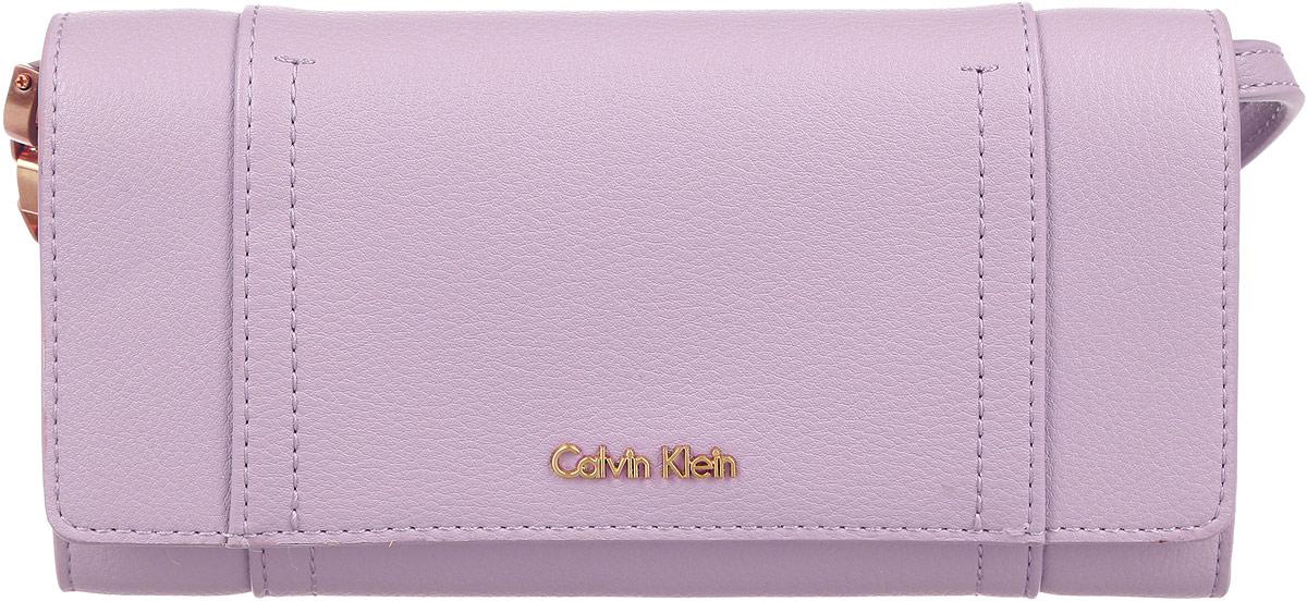 Клатч-кошелек женский Calvin Klein Jeans, цвет: пепельно-розовый. K60K602432_0060 ремень женский calvin klein цвет черный k60k601620 0010 размер 95