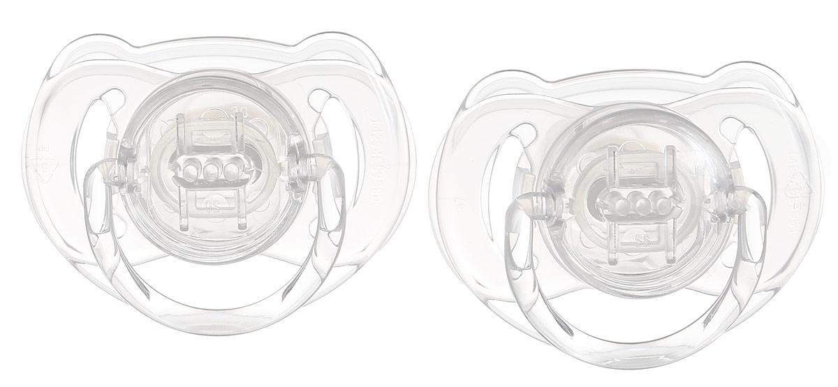Philips Avent Пустышка серия Classic SCF170/22 прозрачная, 2 шт., 6-18 мес. пустышка philips scf172 15