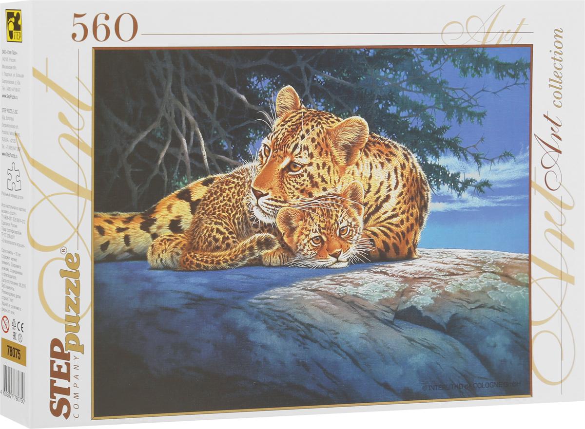 Step Puzzle Пазл Леопарды