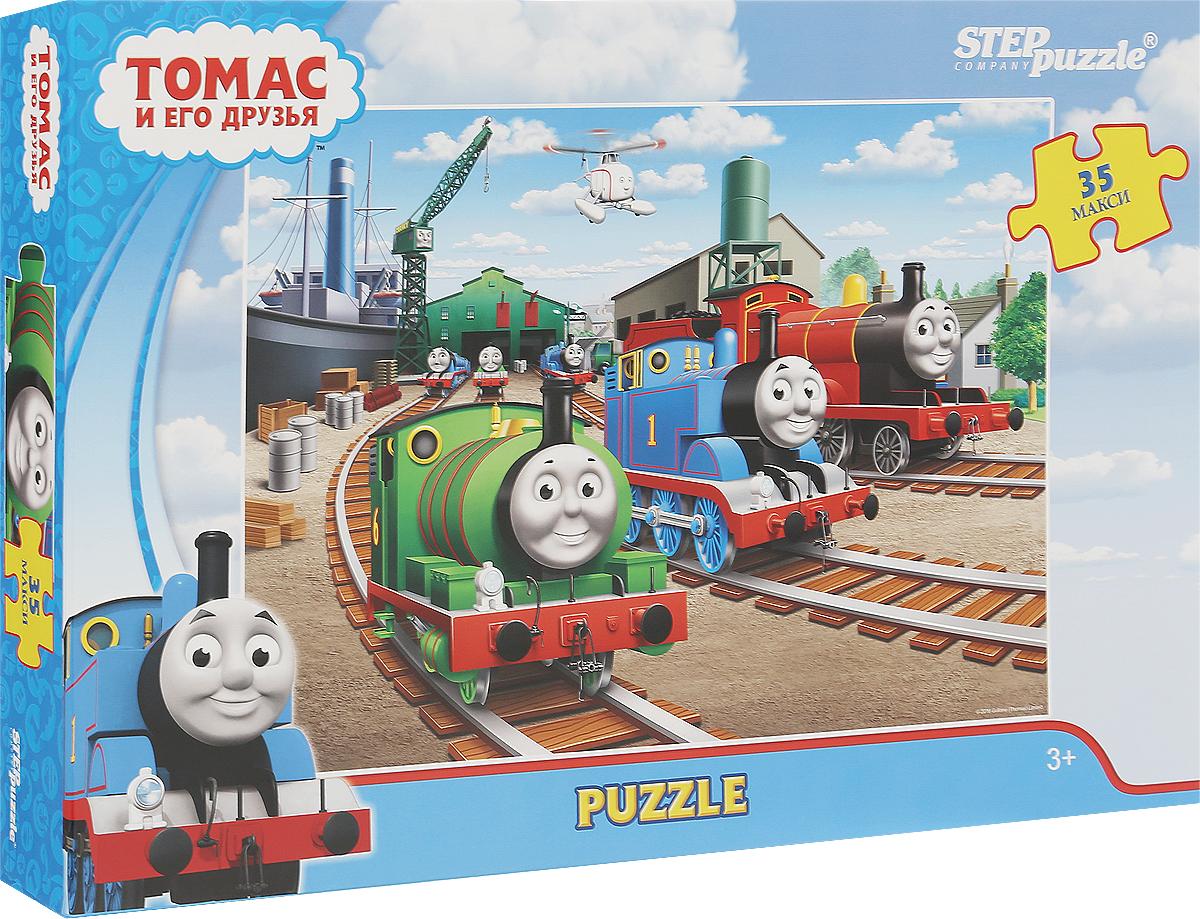 Step Puzzle Пазл для малышей Томас и его друзья 91223 пазл step puzzle томас и его друзья 160 элементов 94058