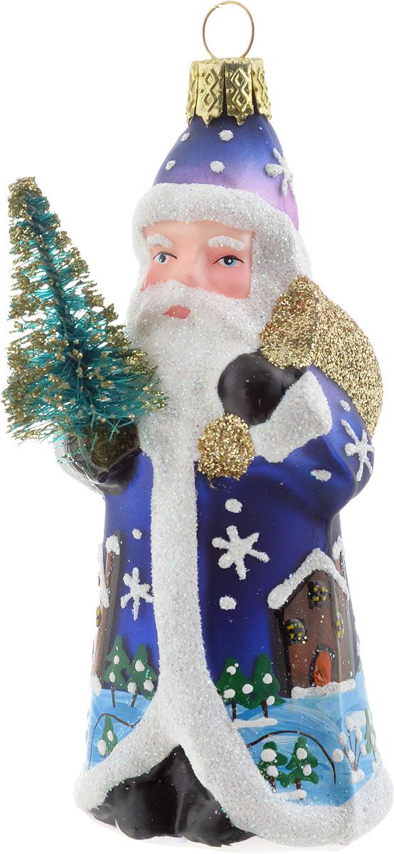 Украшение новогоднее подвесное Winter Wings Дед Мороз с елочкой, высота 8 см новогоднее подвесное украшение sima land дед мороз с елочкой цвет красный 16 х 10 см 718528