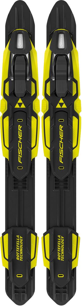 Крепления для беговых лыж Fischer Performance Classic Nis, цвет: черный, желтый fischer ls combi nis