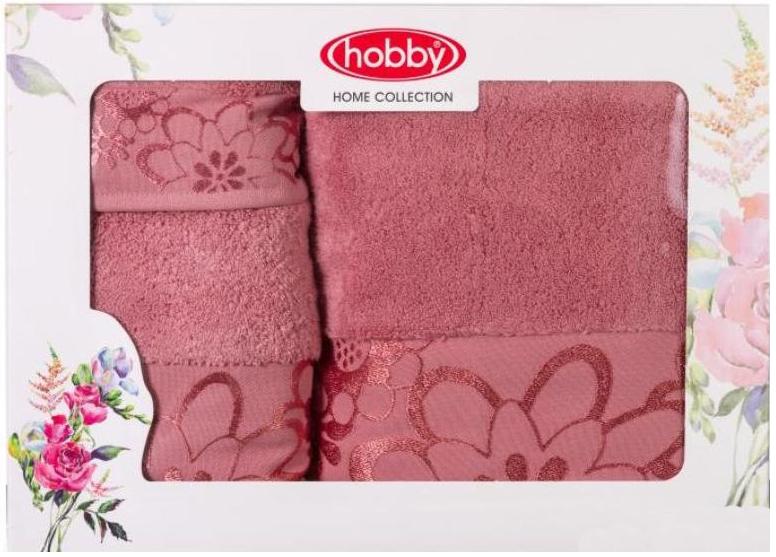 Набор полотенец Hobby Home Collection Dora, цвет: темно-розовый, 3 шт1501001220Набор Hobby Home Collection Dora состоит из трех махровых полотенец, выполненных из натурального 100% хлопка. Изделия мягкие, отлично впитывают влагу, быстро сохнут, сохраняют яркость цвета и не теряют форму даже после многократных стирок.Полотенца Hobby Home Collection Dora очень практичны и неприхотливы в уходе. Они легко впишутся в любой интерьер благодаря своей нежной цветовой гамме.