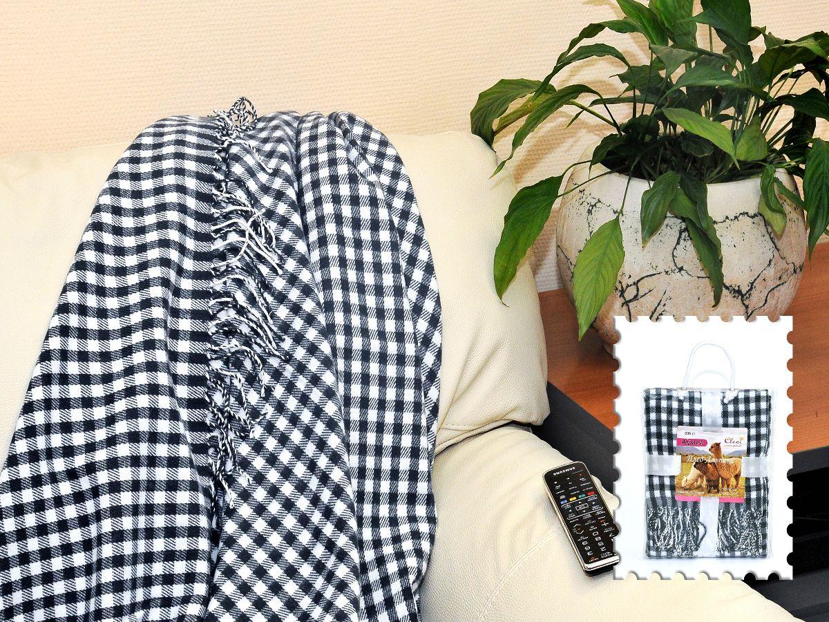 Плед Cleo Каминный, цвет: черный, 130 х 150 см130/009-alКоллекция пледов Cleo – стильный дизайн и согревающая нега прикосновения! Пледы сделаны из инновационного материала - полиакрила. Полиакрил - это уникальный инновационный материал, мягкий и легкий, по внешнему виду и на ощупь напоминает шерсть.