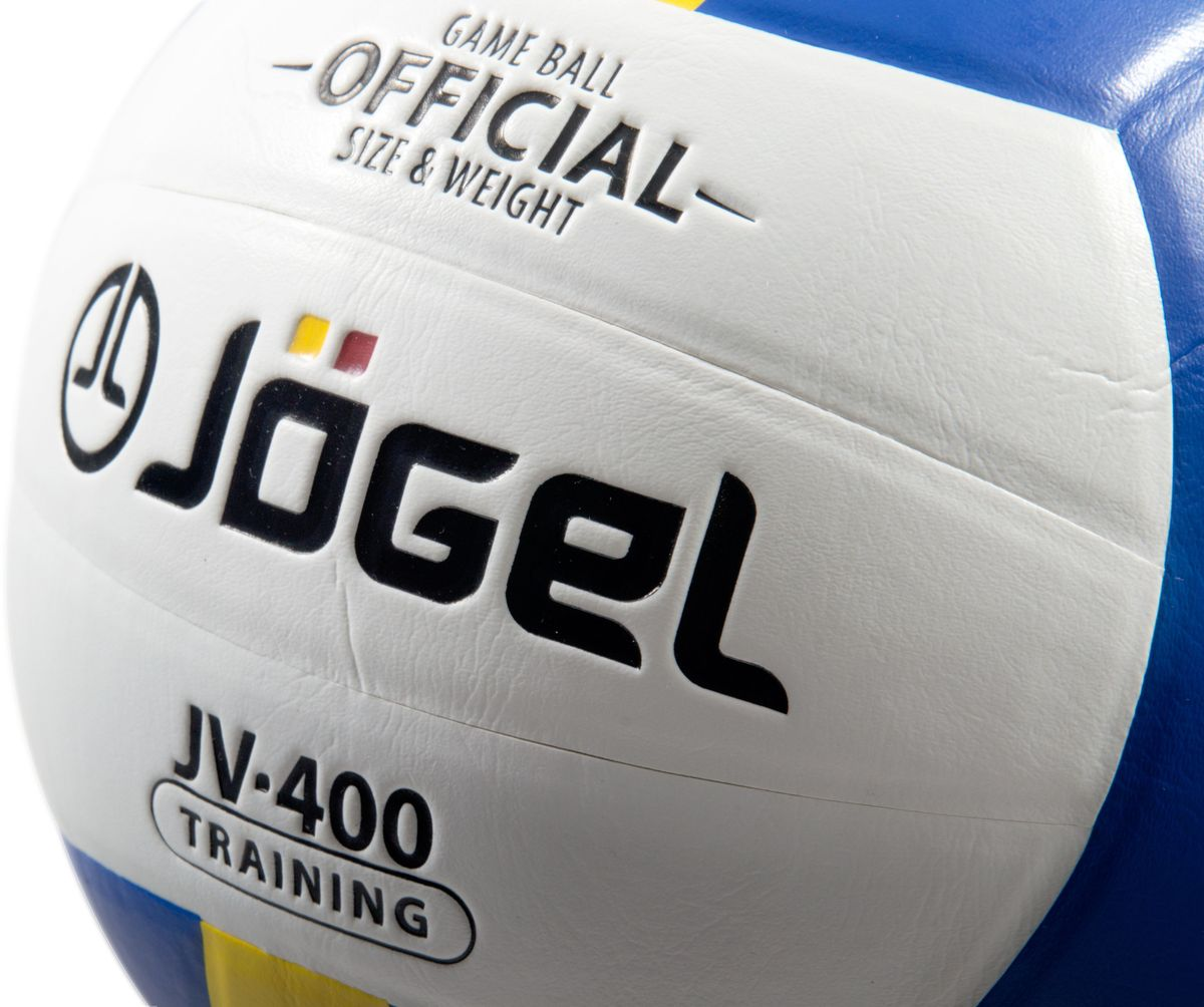 """Клееный волейбольный мяч """"Jogel"""" отлично подойдет для тренировок как в зале, так и на улице.Покрышка мяча выполнена из технологичного композитного материала на основе поливинилхлорида и специального слоя на основе EVA. Мяч мягкий и приятный на ощупь. Он состоит из 18 склеенных между собой панелей и камеры из бутила, также армирован подкладочным слоем из ткани.Вес: 260-280 гр.Длина окружности: 65-67 см.Рекомендованное давление: 0.29-0.32 бар. УВАЖАЕМЫЕ КЛИЕНТЫ!Обращаем ваше внимание на тот факт, что мяч поставляется в сдутом виде. Насос в комплект не входит."""