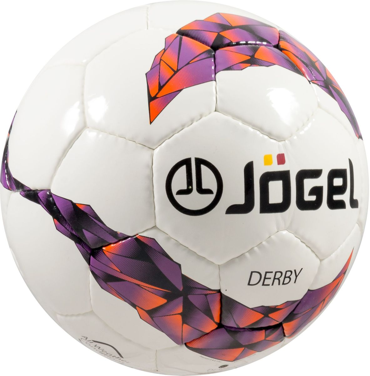 """Классический футбольный мяч серии """"Derby"""" с прочной покрышкой из синтетической кожи, сшитой вручную. Камера выполнена из латекса.  Мяч имеет отличные технические характеристики, которые соответствуют требованиям тренировочного процесса. Предусмотрено четыре  подкладочных слоя из смеси хлопка с полиэстером.  Мяч станет прекрасным выбором для тренировок и игр клубных и любительских команд.  Вес: 310-350 гр. Длина окружности: 59-61 см. Рекомендованное давление: 0.6-0.8 бар."""